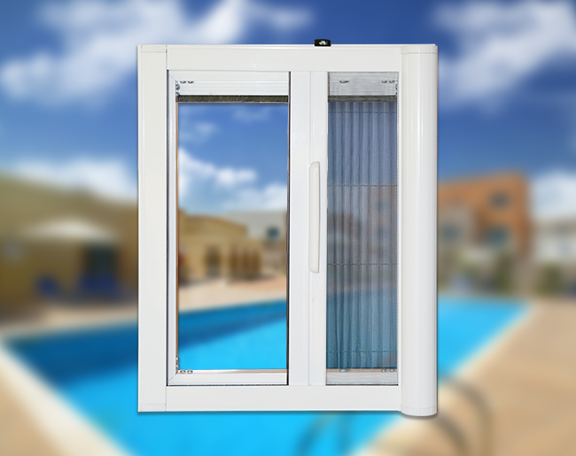 Fly screens in uae vertical and horizontal fly screens for Vertical rolling screen door